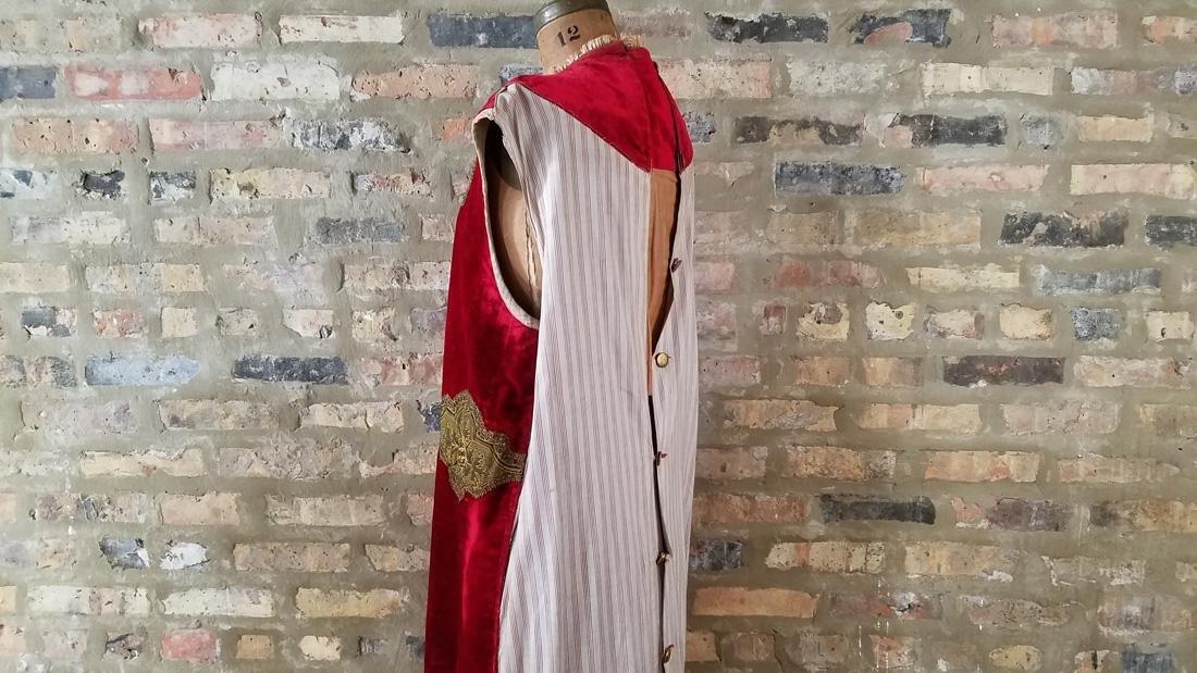 Antique Dress C. 1910 Secret Society - 5