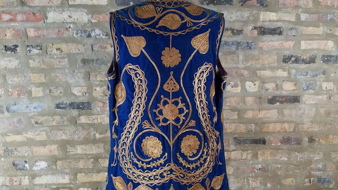 Vintage Embroidered Vest c.1930 - 2