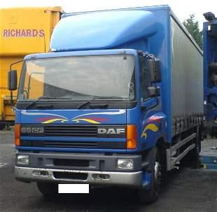 DAF Curtain Side Truck