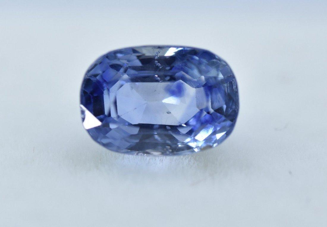 LOOSE NATURAL BLUE SAPPHIRE 2.63 CARATS - 3