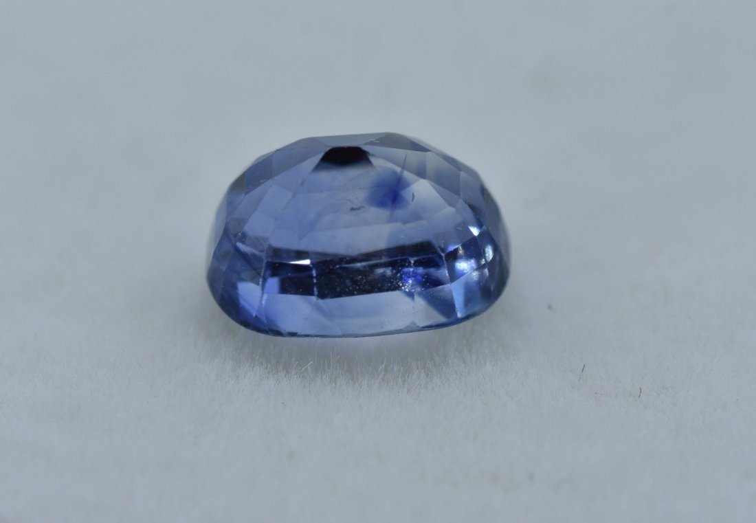 LOOSE NATURAL BLUE SAPPHIRE 2.63 CARATS - 4