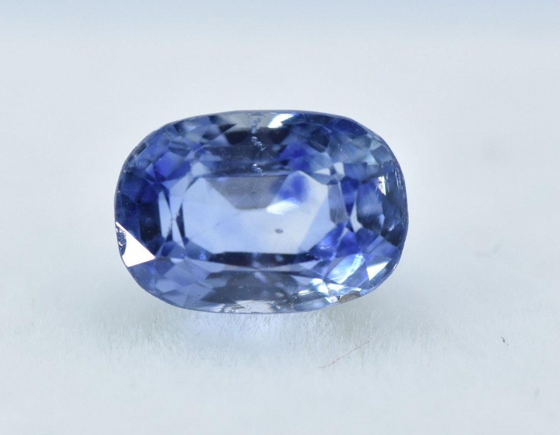 LOOSE NATURAL BLUE SAPPHIRE 2.63 CARATS - 9