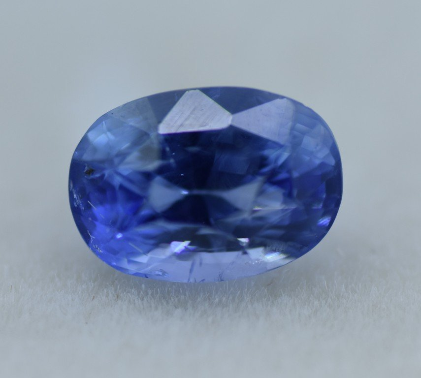 LOOSE NATURAL BLUE SAPPHIRE 3.07 CTS