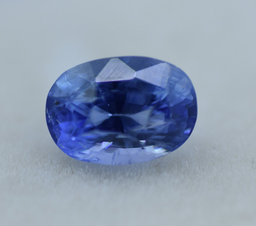 LOOSE NATURAL BLUE SAPPHIRE 3.07 CTS - 7
