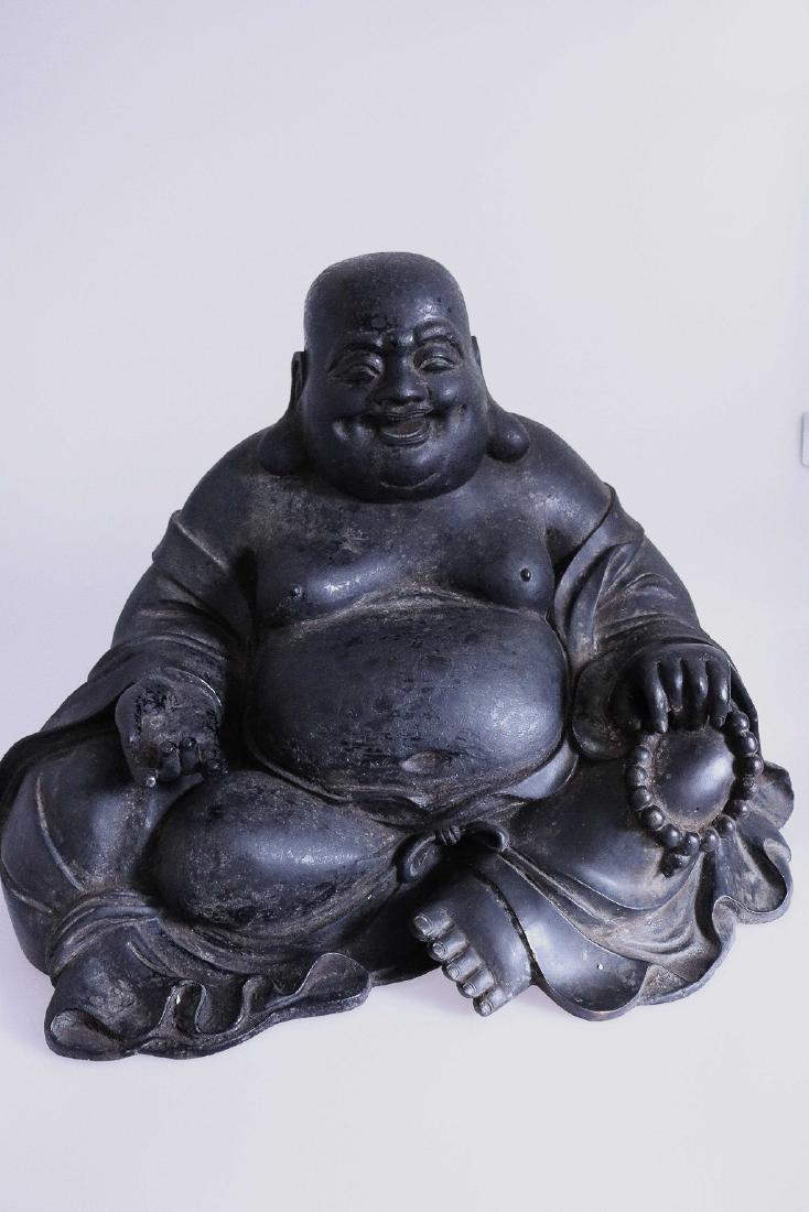 A DAQING QIANLONG  MARK LAUGHING BUDDHA