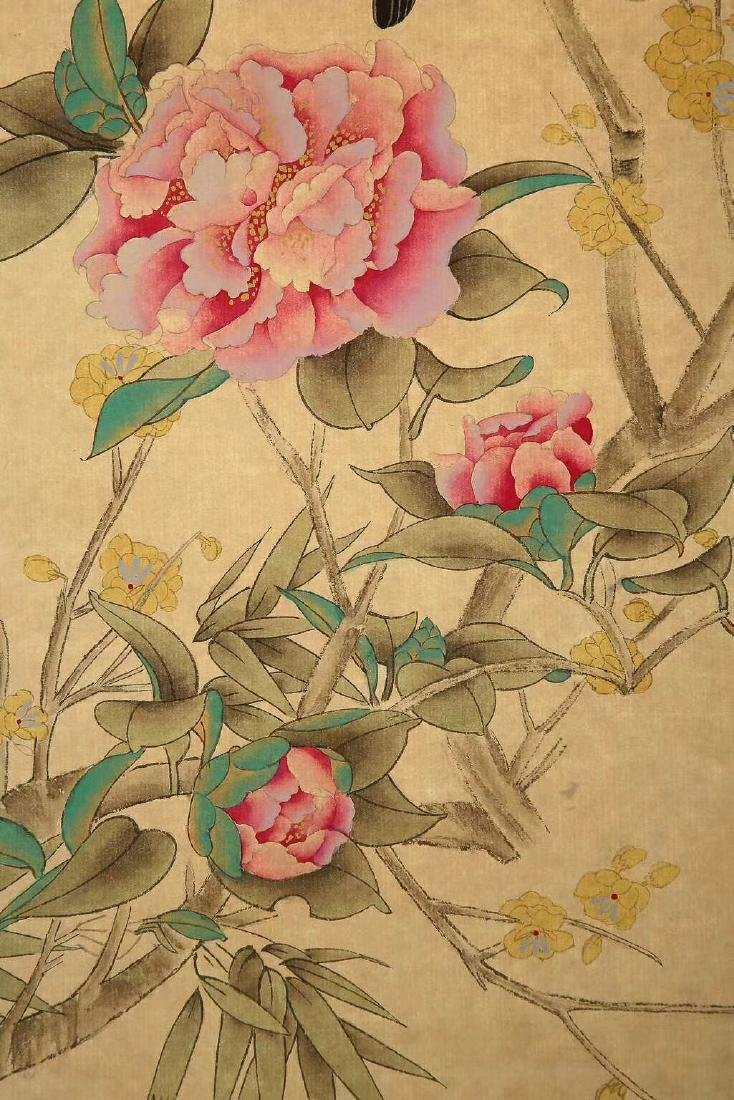 A XIEZHILIU TRADITIONAL CHINESE REALISTIC PAINTING - 4