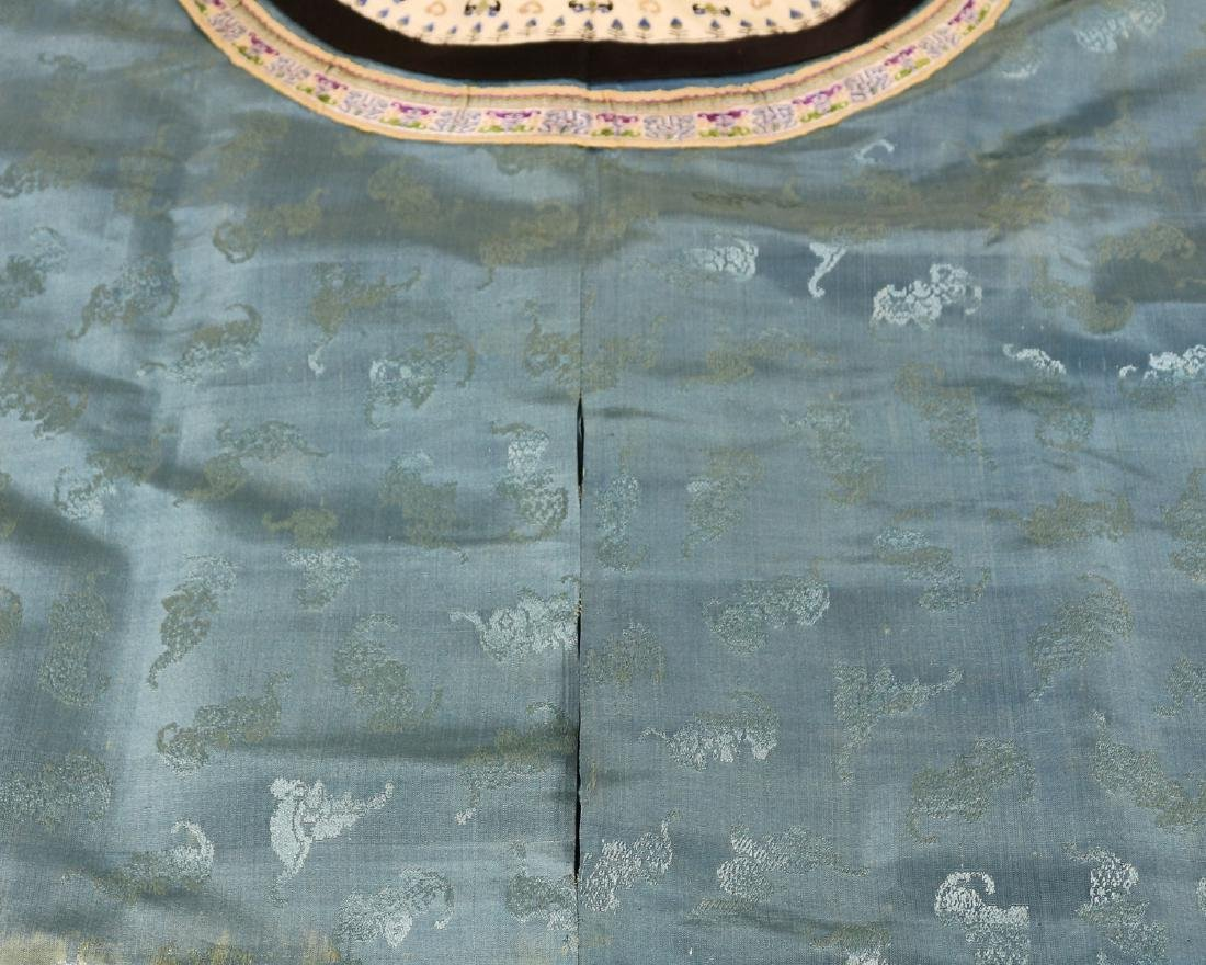 CHINESE EMBROIDERED ROBE - 10