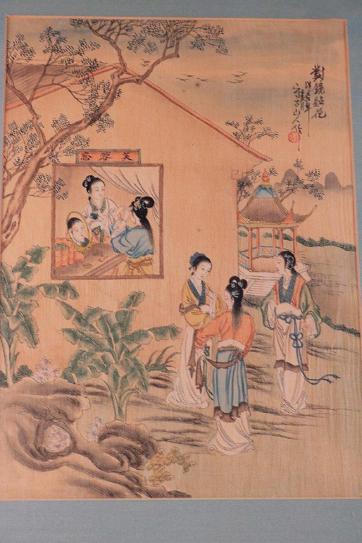 A SET OF TRADITIONAL CHINESE PAINTING
