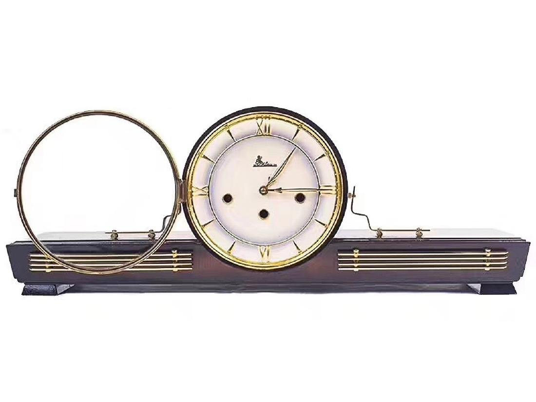 A WESTMINSTER BRACKET CLOCK