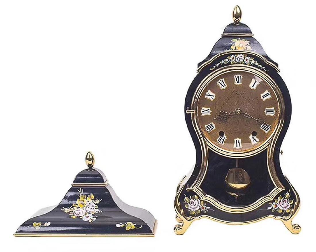 A WIND-UP MECHANICAL CLOCK, 1950-1960