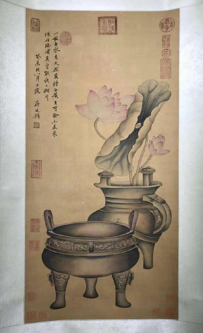 INK PAINTING HAND SCROLL OF JIANGYANXI SIGN