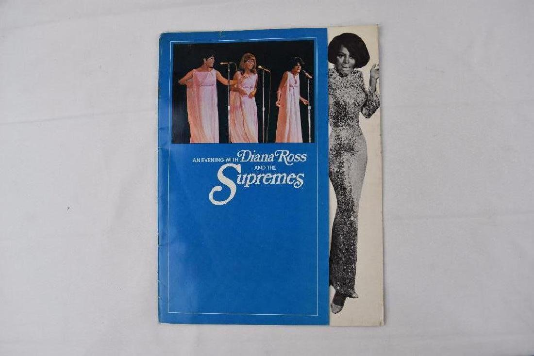 2 Diana Ross The Supremes Vintage 1968 Concert Program
