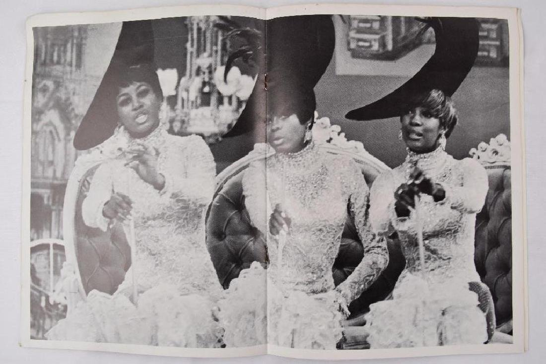 2 Diana Ross The Supremes Vintage 1968 Concert Program - 4