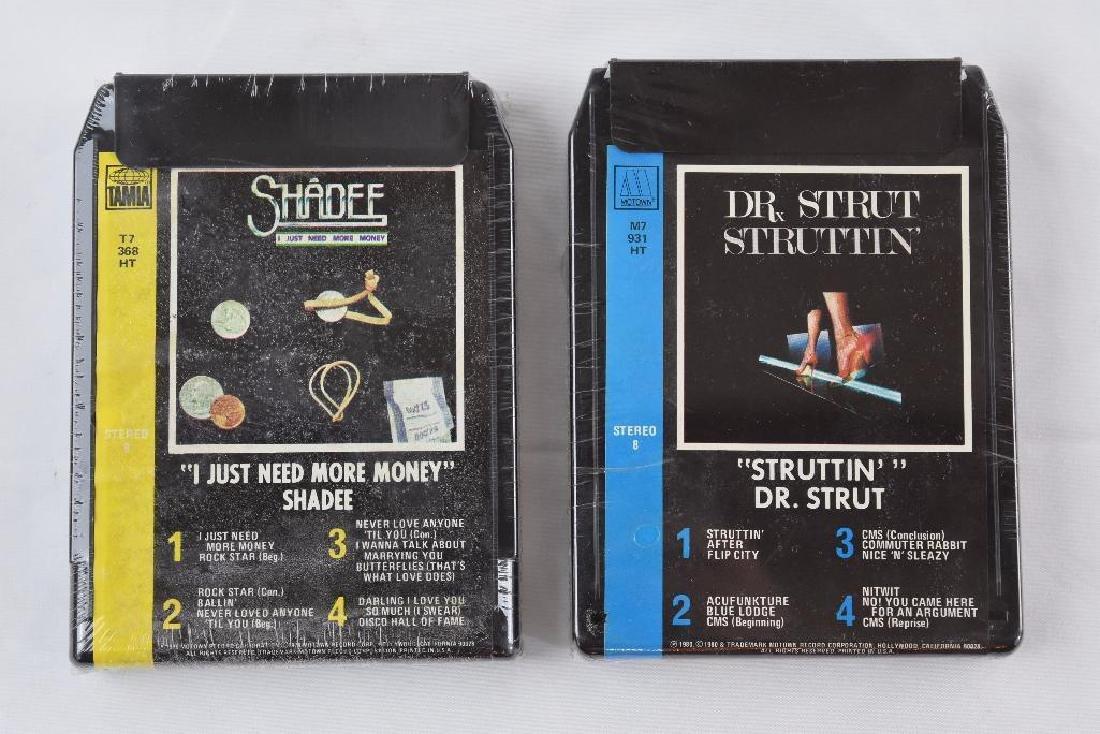 Six Motown / Tamia Artist 8 Track Cassette Cartridge - 2