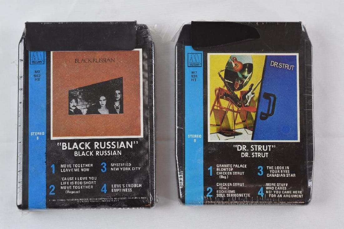 Six Motown / Tamia Artist 8 Track Cassette Cartridge - 3