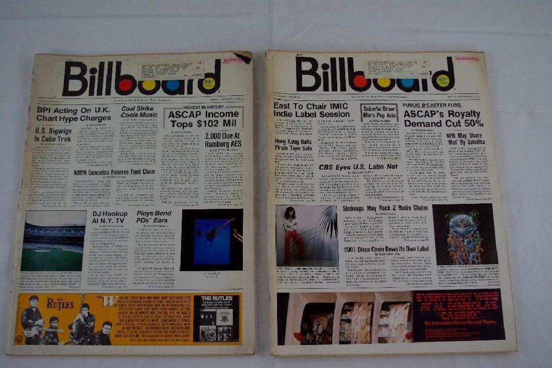 Two Billboard Newspaper Magazines Sent to MOTOWN REC