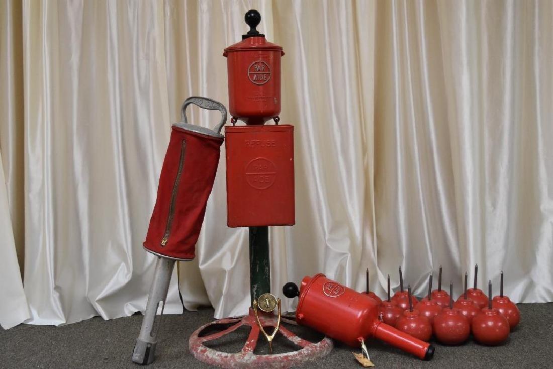 Gordy Golf Equipment Including Vintage Par Aide