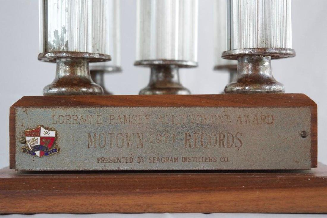 Two Vintage MOTOWN Bowling Trophies - 3