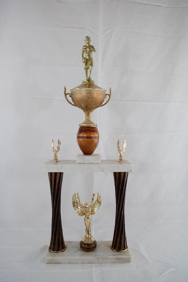 Two Vintage MOTOWN Bowling Trophies - 8