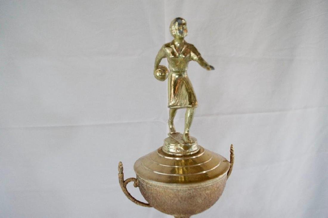 Two Vintage MOTOWN Bowling Trophies - 9