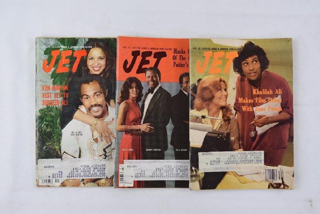 Nine 1970s Jet Magazines Sent to Motown Records