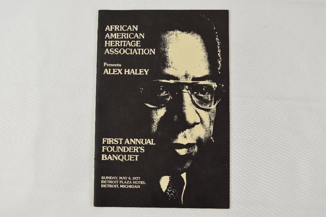 Program From African American Heritage Assoc Detroit MI