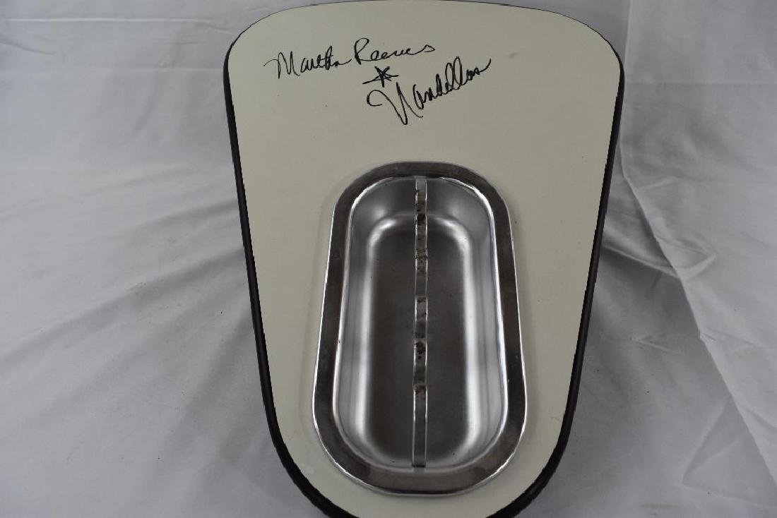 Martha Reeves Signed Bowling Alley Ashtray