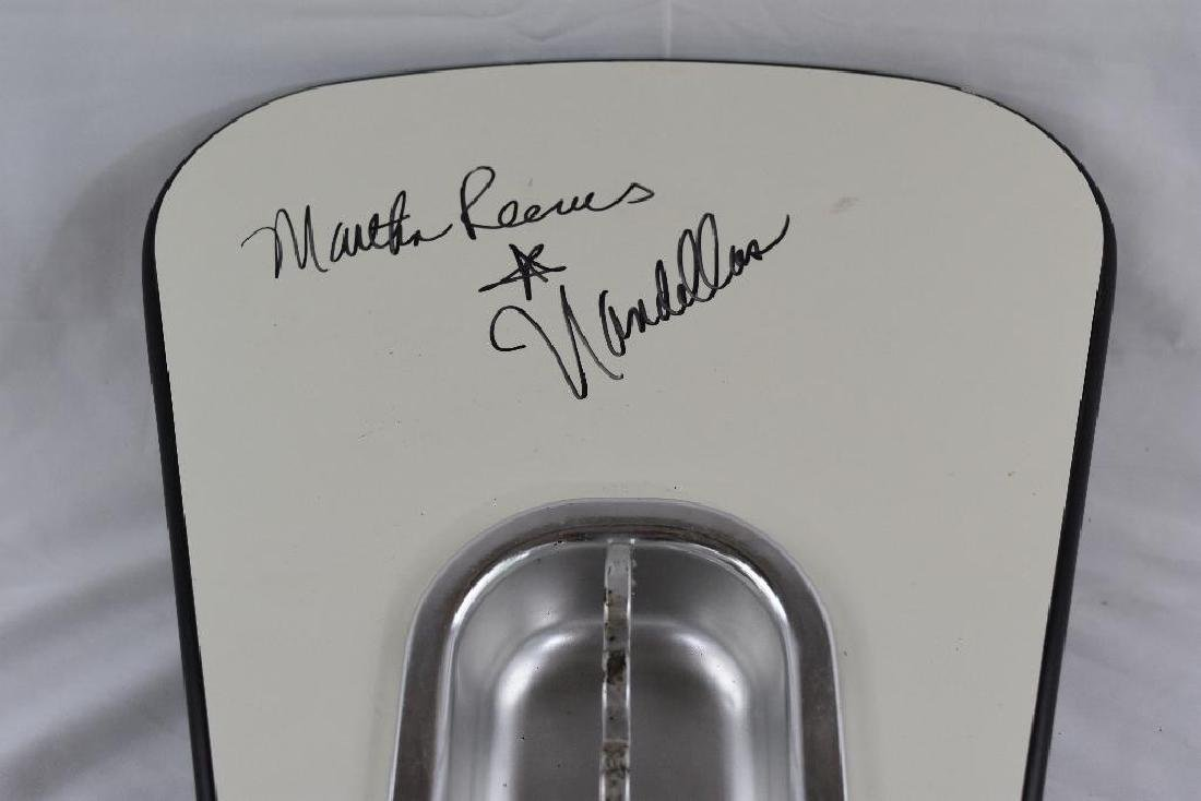 Martha Reeves Signed Bowling Alley Ashtray - 2