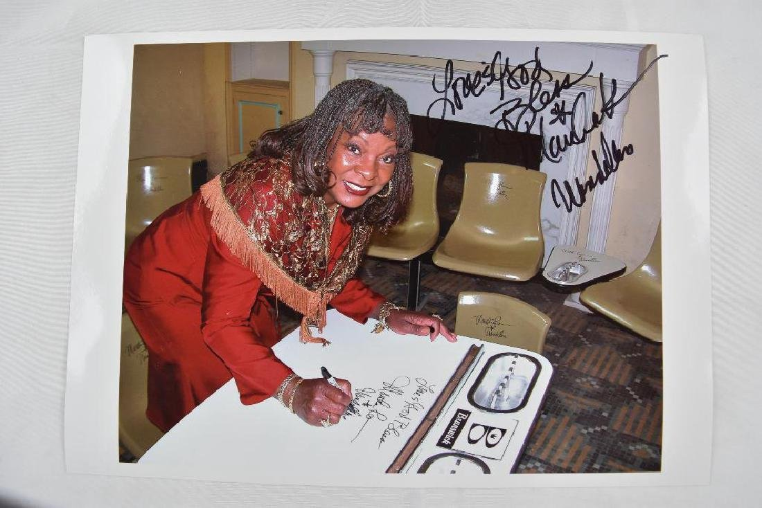 Martha Reeves Signed Bowling Alley Ashtray - 3