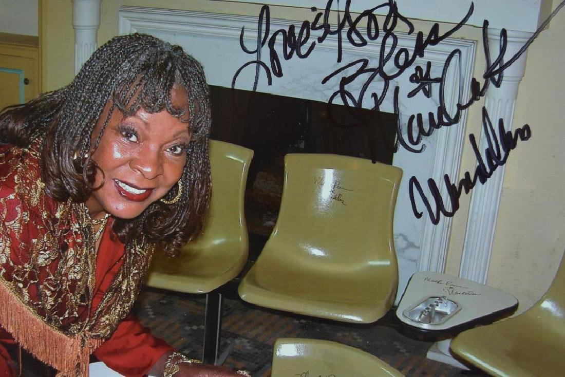 Martha Reeves Signed Bowling Alley Ashtray - 4