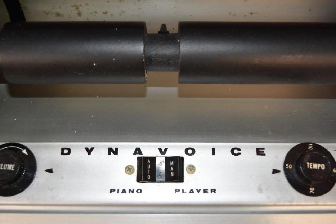 Dynavoice Piano Roller. Model PL52. - 3