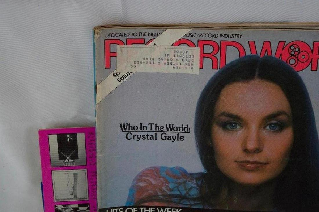 Eight 1970s RECORD WORLD Magazines (MOTOWN) - 5