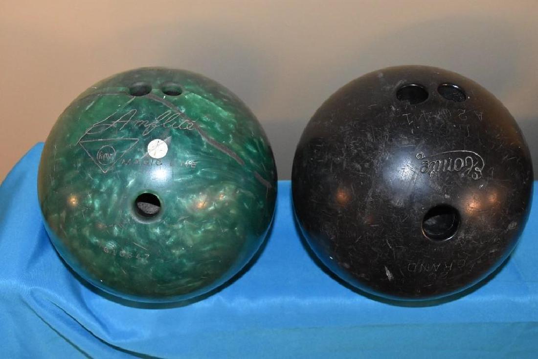 Berry Gordy Family Bowling Balls and 20 Grand Club Ball - 10