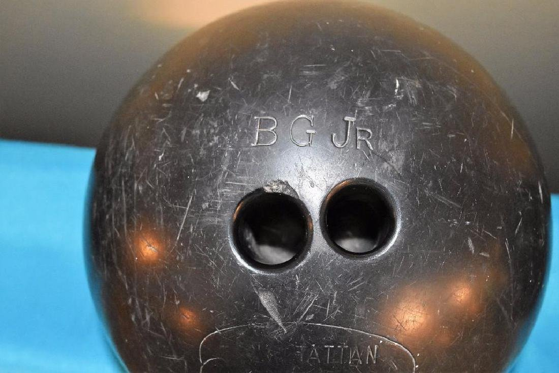 Berry Gordy Family Bowling Balls and 20 Grand Club Ball
