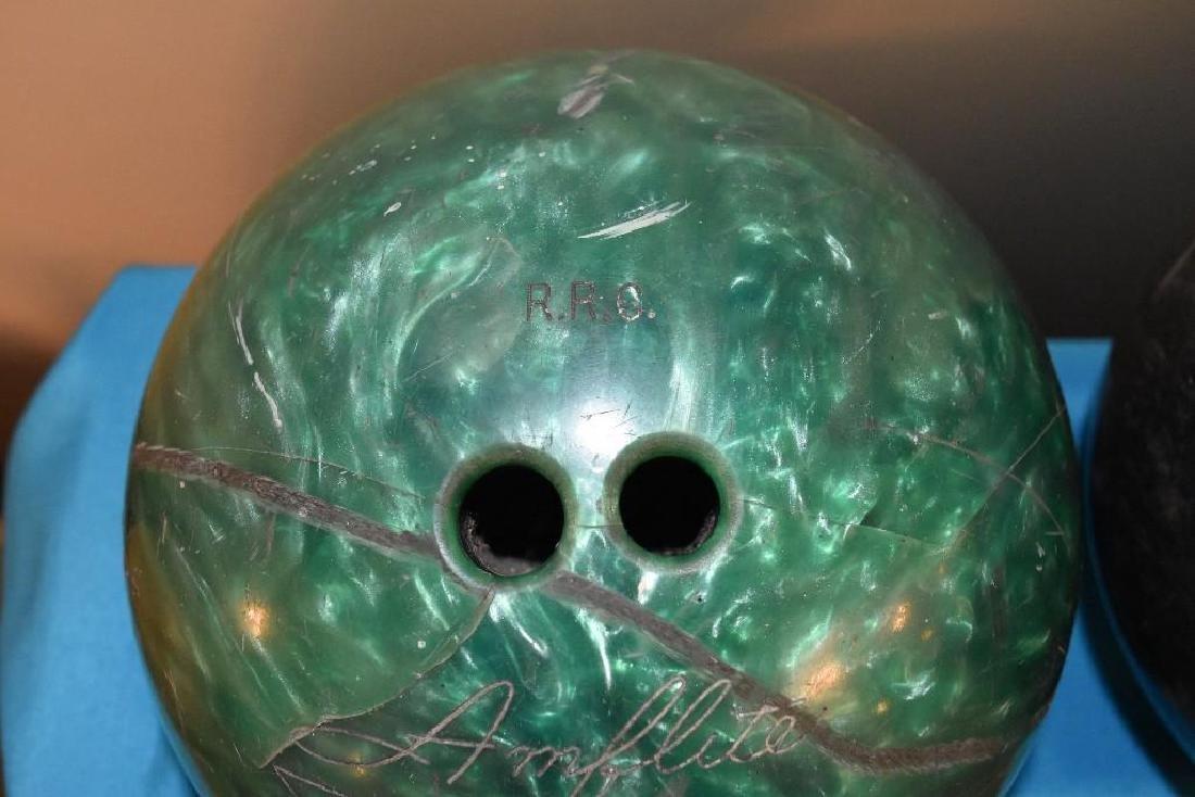Berry Gordy Family Bowling Balls and 20 Grand Club Ball - 5