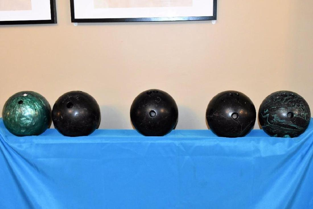 Berry Gordy Family Bowling Balls and 20 Grand Club Ball - 7