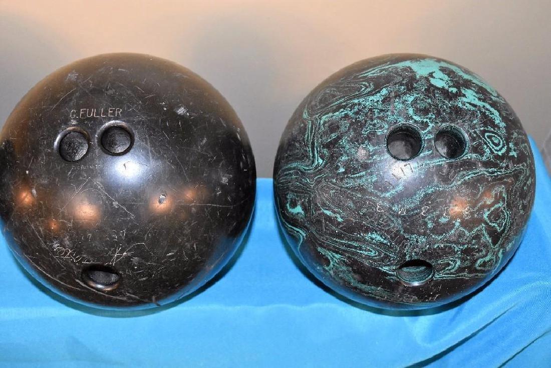 Berry Gordy Family Bowling Balls and 20 Grand Club Ball - 8