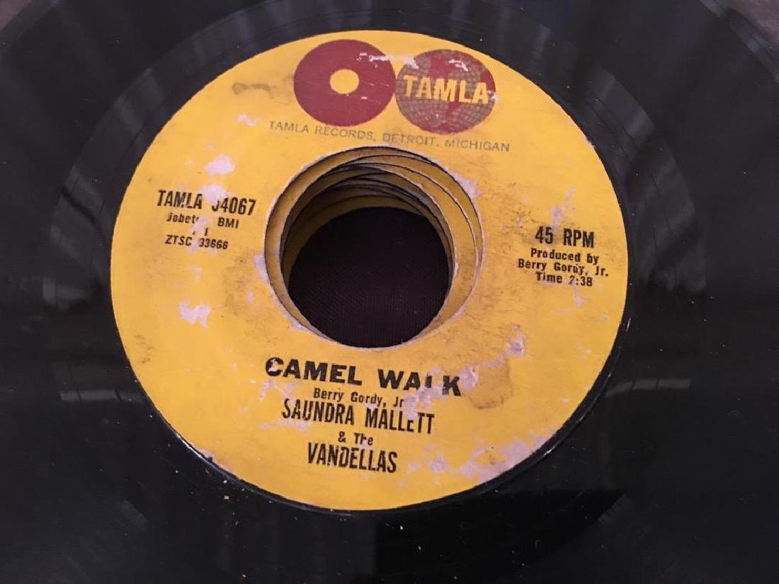 Saundra Mallett The Vandellas Camel Walk Tamla Motown - 7