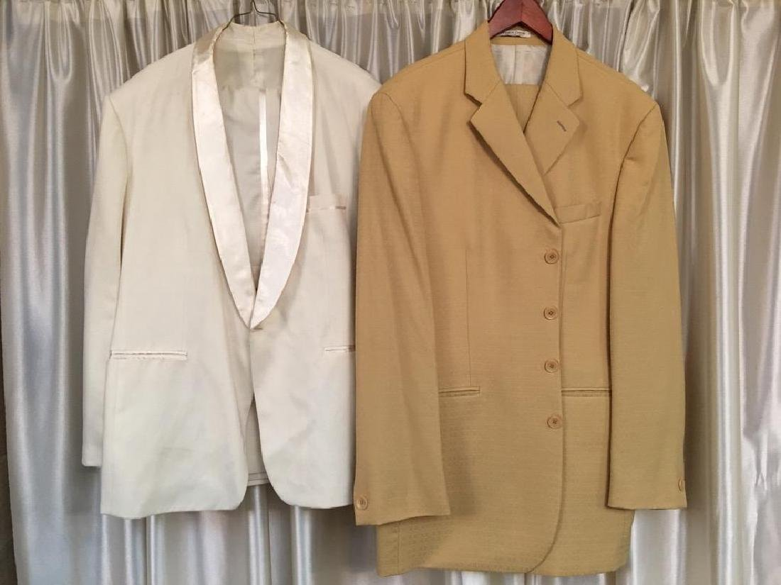Two Bobby Rogers The Miracles Concert Suit Jackets