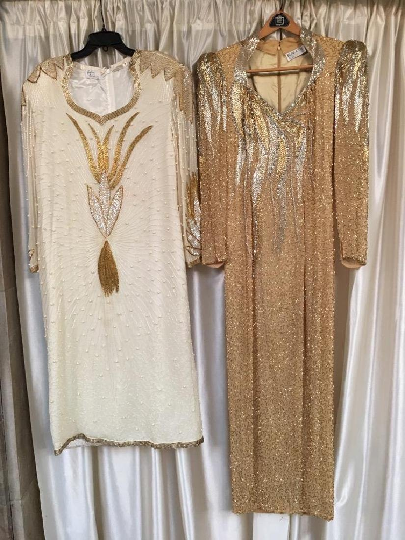 Two Concert Gowns Worn by Laura Lee 1980s