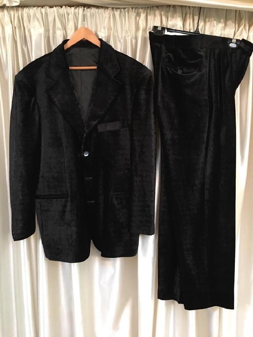 Velvet Concert Suit Worn By David Finley The Miracles