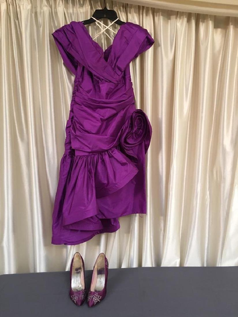 Gown & Shoes Worn by The Velvelettes