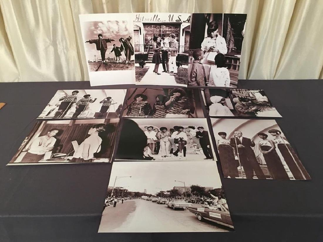 10 Motown Photographs from the Al Abrams Collection