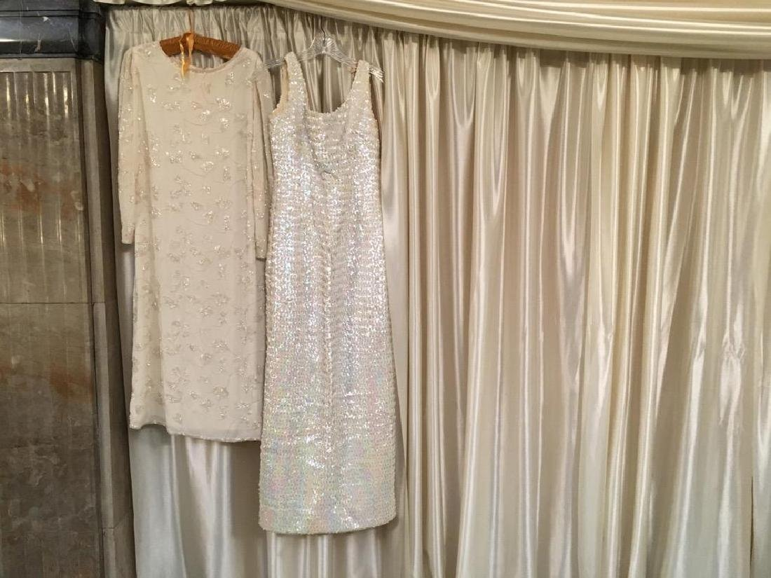 Two Vintage Sequin Dresses Found in Motown Mansion