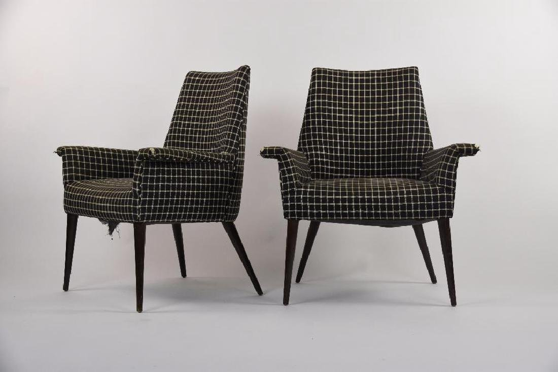 Pair of Paul McCobb 3049 Lounge Chairs