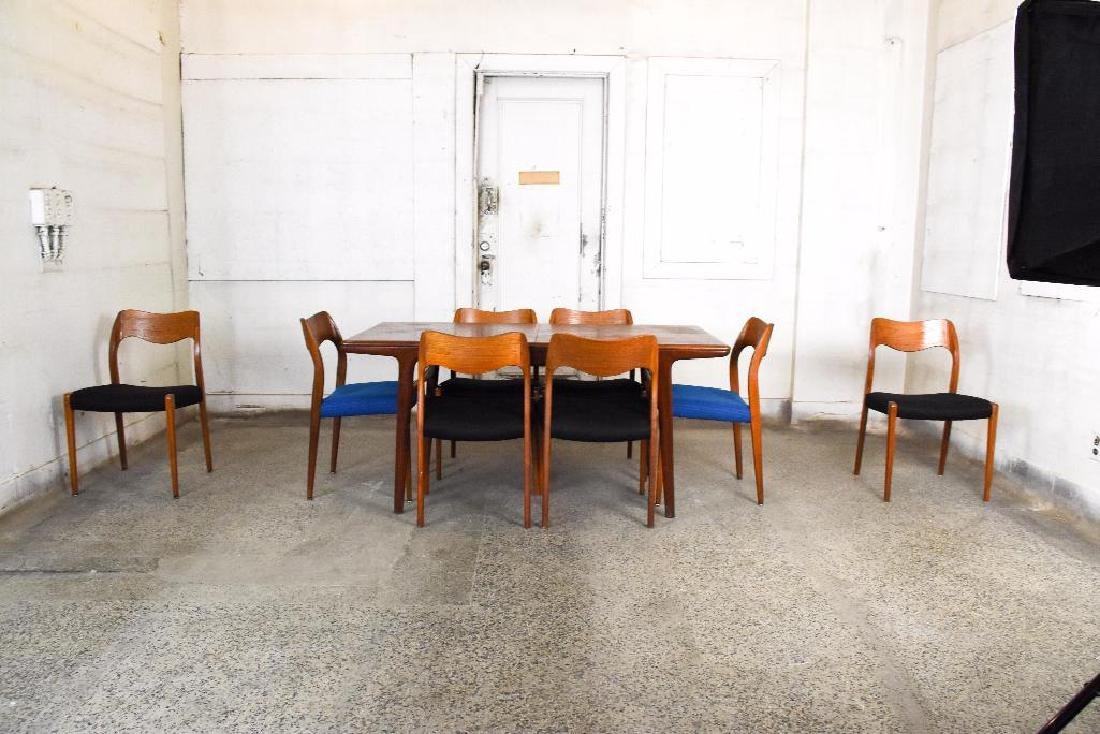Niels O. Moller Dining Table & 8 Chairs