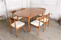 Mid Century Maple Dining Set