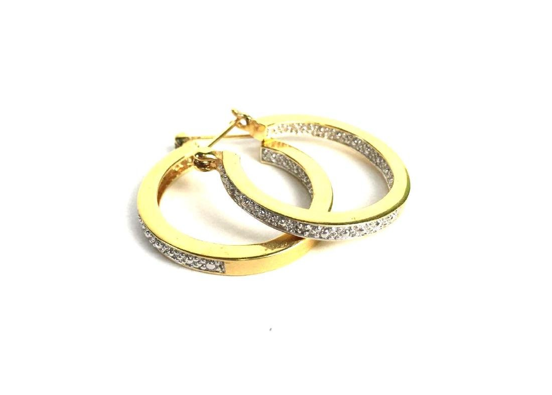 Lot of 4 Sterling Silver Earring Pairs - 2