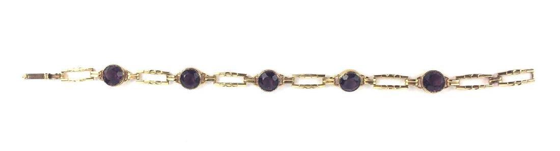 Gold Filled Vintage Simmons Link Bracelet -