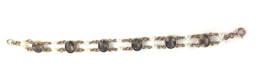 Vintage Gold Filled Link Bracelet